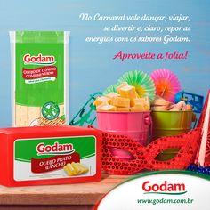 Nesse carnaval curta produtos Godam!!! Acesse nosso site: www.godam.com.br