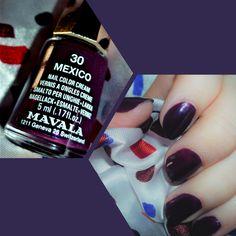 Vernis Mexico de Mavala  #Nailpolish #naillacquer #mavala #blogueuse #beaute #manucure