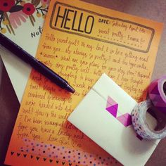 are you looking for a penpal or two? start with these rad sites..