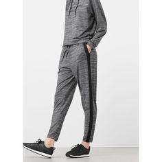 Pantalon training stretch gris chiné foncé  La Redoute