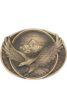 Montana Silversmiths Soaring Eagle Cast Buckle