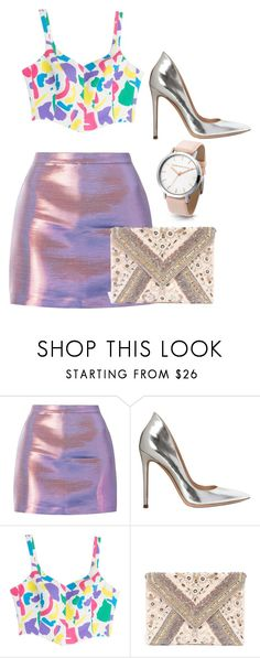 """""""Outfit Bling Bling"""" by leoniemika on Polyvore featuring mode, Gianvito Rossi, Moschino et LULUS"""