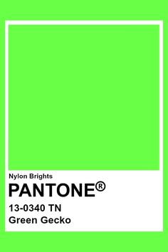Pantone Color Chart, Pantone Colour Palettes, Pantone Colours, Neon Colour Palette, Neon Colors, Pantone Swatches, Color Swatches, Paleta Pantone, Pantone Green