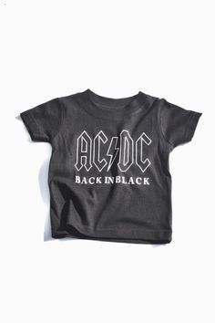 ACDC-Not Splitting Up Music//Rock//Singer Cotton Shirt Round Neck Short Sleeve Shirts for Teen Boys and Girls Classic Fit Black