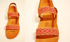 Handmade Leather Greek Sandals Costas Pavlidis, Braids, Ethnic!!! Il Tacco!!!