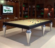 billiard tables cabochon parigi