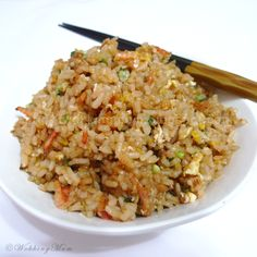 Lets get Wokking!: Garlic Fried Rice | Singapore Food Blog on easy recipes