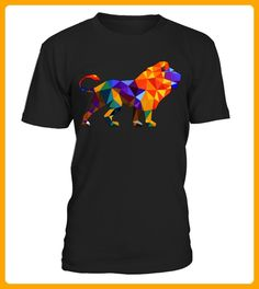tshirt Polygonal Lion - Affen shirts (*Partner-Link)