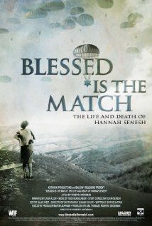 Blessed Is the Match: The Life and Death of Hannah Senesh (2008) At age 22, Hannah Senesh parachuted into Nazi-occupied Europe in an effort to save the Jews of Hungary. As a poet and diarist, she left behind a body of work that has inspired generations. Narrated by Academy Award nominee Joan Allen, BLESSED IS THE MATCH is the first film to present the life story of this remarkable, talented, and complex woman.