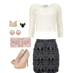 """Classy Gal"" by smile-laugh on Polyvore"