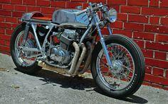 "Honda CB750 Cafe Racer ""Elegant Ride"" by Ezio #motorcycles #caferacer #motos | caferacerpasion.com"