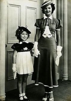 Shirley Temple & Rochelle Hudson