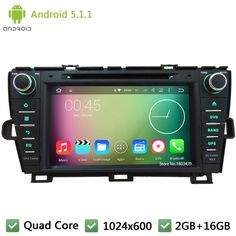 Awesome Toyota Prius 2017: Like and Share if you want this  Quad core Android 5.1.1 2Din 1024*600 FM Car DV...