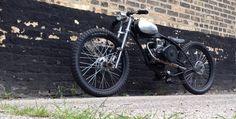 Hardtail motorized bike Thunderchief Cycles
