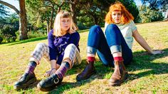 Indie rock's romance with the '90s heats up in Before the World Was Big, the debut album from Girlpool, a duo with a spare, fierce, Gen X sound.