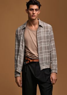 H&M Studio offers up a premium spin on the season with its spring-summer 2016 men's collection. The Swedish brand enlists model Rhys Pickering to showcase its latest styles. Warming up to a sporty aesthetic, a contemporary wardrobe unfolds with plenty of layering. The basic t-shirt gets an update in volume and makes a smart companion...[ReadMore]