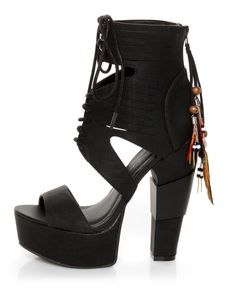 Killer Shoes! Gonna wear these with those teeny tiny dresses!