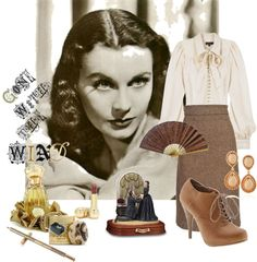 """""""Vivien Leigh"""" by evitastyle on Polyvore"""