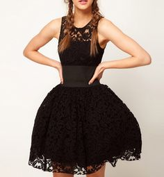 Women's Sexy Black Lace Bubble mini sundress outfit Details Style Cute Material Lace Silhouette Ball Gown Dresses Length Mini Collar-line Round Collar Sleeves Length Sleeveless Pattern Type Solid Asos Prom Dresses, Dresses Short, Short Lace Dress, Ball Gown Dresses, Cute Dresses, Dress Black, Black Tutu, Party Dresses, Black Prom