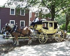 the-new-stage-coach-at Old Sturbridge Village