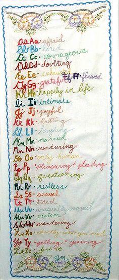 joetta maue's embroidery