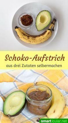 locker leichte Schoko-Creme als Brotaufstrich oder Dessert.