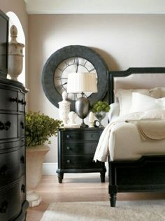84 Best Black and Cream Bedroom images | Black, cream ...
