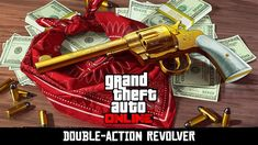 Rockstar: Double-Action Revolver GTA For PC (Windows & Mac) & IOS using an Emulator! Double-Action Revolver GTA PC: Rockstar: Double-Action Revolver for GTA Online and Red Dead Redemption Fans can secure a portion of Red Dead Redemption 2 today. Gta 5, New Gta, Red Dead Redemption, Grand Theft Auto, Revolver, Play Gta Online, Online S, Crossover, Ps4