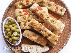 Fotorecept: Focaccia - talianska chlebová placka - Focaccia (fokača) je talianska chlebová placka. Pripomína naše chlebové osúchy, ktoré sa...