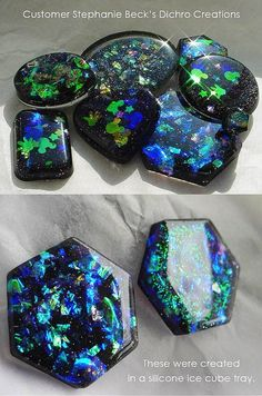 Dichro-ISH Resin | Little Windows Brilliant Resin for Jewelry & More