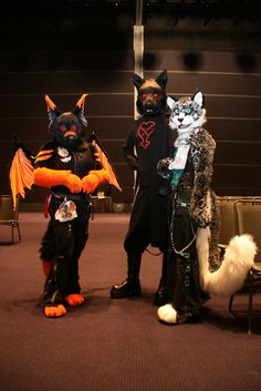 Awesome-sauce fursuits!