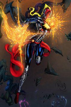 Captain Marvel Exploration Armor MK XIII by Nova-sama420