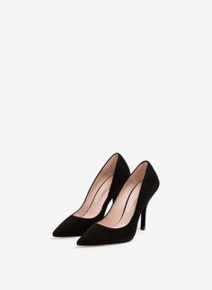 Uterqüe United Kingdom Product Page - Footwear - View all - Suede high heel shoes - 85