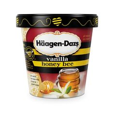 Haagen Daz Honey Vanilla. Oh how I wish they still made this. Best ice cream ever.