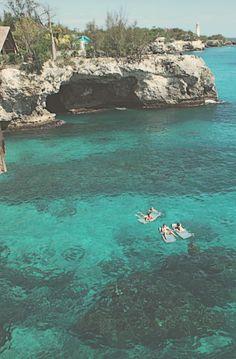 float. negril, jamaica.