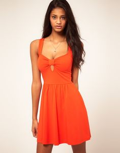 ASOS Sundress With Sweetheart Neck