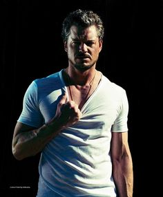 Eric Dane - Yes, that has been a very naughty t-shirt. Get mad. Please.