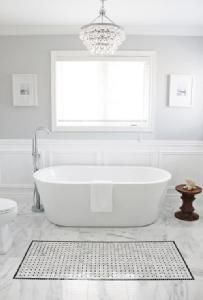 Perfect bathroom finishes
