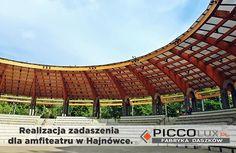 Zobaczcie naszą realizację amfiteatru! Oferujemy rozwiązania dla przemysłu: http://www.piccolux.pl/pl/