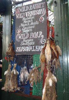 The Borough Market - roadkill for dinner?