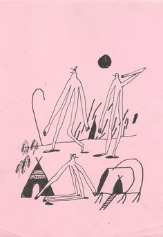 Drawings by Quentin Chambry.