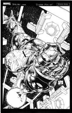 Invincible Iron Man by Joe Quesada