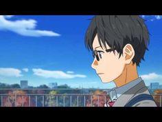 Shigatsu wa Kimi no Uso - Rooftop Scene