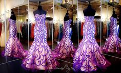 100DIS0356240 PURPLE/CHAMPAGNE MERMAID This Mermaid Gown is totally Out of this World with its sophisticated Silhouette and Sweetheart Neckline!  ONLY at Rsvp Prom and Pageant in Downtown Lawrenceville, Georgia or order it online at http://rsvppromandpageant.net/collections/long-gowns/products/100dis00356240595-purple-champagne