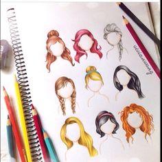 Prenseslerin saçları.Hangisi en iyisi?