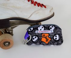 Mouthguard Case, Mouthguard Holder, Jack skellington case, Nightmare before christmas, sports gear, braces by HungryRhinoStudios on Etsy