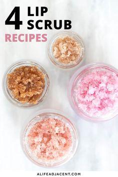 Body Scrub Recipe, Diy Body Scrub, Sugar Scrub Recipe, Exfoliating Body Scrub Diy, Coconut Oil Sugar Scrub, Zucker Schrubben Diy, Diy Cosmetic, Sugar Scrub Homemade, Sugar Scrub For Lips