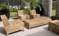 pallet style patio furniture