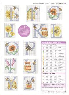 buzzy bees alphabet