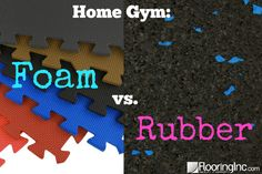 Home Gym: Foam vs Rubber–which is the way to go? The pros and cons of each mate… Home Gym: Foam vs Rubber–which is the way to go? The pros and cons of each material explained to help you make the best choice for your home gym! Man Cave Basement, Basement Gym, Basement Ideas, Basement Finishing Systems, New Home Quotes, Home Gym Garage, Gym Lighting, Home Gym Design, Best Home Gym